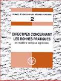 2 - Directives Concernant les Bonnes Pratiques en Matiere de Baux Agricoles 9789252046677