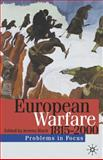 European Warfare, 1815-2000, , 0333786688