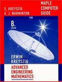 Advanced Engineering Mathematics, Maple Computer Guide, Kreyszig, Erwin, 0471386685