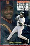 Complete Baseball Record Book, 2002 9780892046683