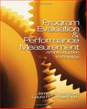 Program Evaluation and Performance Measurement : An Introduction to Practice, McDavid, James C., 1412906687