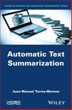 Automatic Text Summarization, Torres-moreno, 1848216688