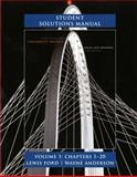 Student Solutions Manual for University Physics Volume 1 (Chs. 1-20), Young, Hugh D. and Freedman, Roger A., 0321696689