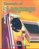 Elements of Language, O'Dell, 003052668X