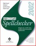 Stedman's Plus Version 2002 Medical/Pharmaceutical Spellchecker, Sredman, 0781736684