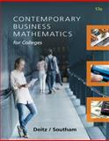 Contemporary Business Mathematics for Colleges 17th Edition