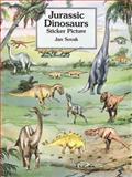 Jurassic Dinosaurs Sticker Picture, Jan Sovak, 0486296695