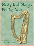 Sixty Irish Songs for High Voice, , 0486426696