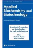 Seventeenth Symposium on Biotechnology for Fuels and Chemicals : Proceedings As Volumes 57 and 58 of Applied Biochemistry and Biotechnology, , 1461266696