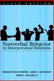 Nonverbal Behaviour in Interpersonal Relations, Richmond, Virginia P. and Hickson, Mark L., 020548669X