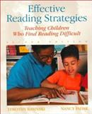 Effective Reading Strategies : Teaching Children Who Find Reading Difficult, Rasinski, Timothy and Padak, Nancy, 0130996696