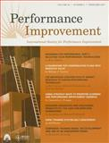 Performance Improvement, PFI, 0787996696