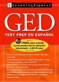 GED Test Prep en Espanol, LearningExpress Editors, 1576856690