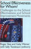 School Effectiveness for Whom?, , 0750706694