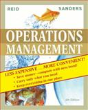 Operations Management, Fourth Edition Binder Ready Version, Reid, 0470556706