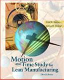 Motion and Time Study for Lean Manufacturing, Meyers, Fred E. and Stewart, Jim R., 0130316709