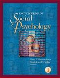 Encyclopedia of Social Psychology, , 1412916704