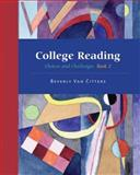 College Reading Series-Volume 2, Van Citters Staff, 0759396701