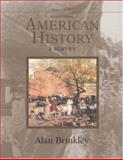 American History with PowerWeb, Brinkley, Alan, 0072936711