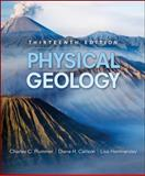 Physical Geology, Plummer, Charles C. and Carlson, Diane H., 007337671X