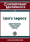 Lipa's Legacy, Bers Colloquium (1st : 1995 : Graduate School and University Center of CUNY), Jozef Dodziuk, Linda Keen, 0821806718