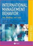 International Management Behavior : Text, Readings, and Cases, Lane, Henry W. and DiStefano, Joseph J., 140512671X