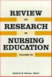 Review of Research in Nursing Education, , 0887376711