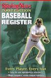 Baseball Register, 2002, Sporting News Staff, 0892046724