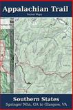 Appalachian Trail Pocket Maps - Southern States, K. Parks, 1502496720
