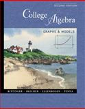 College Algebra : Graphs and Models, Bittinger, Marvin L. and Beecher, Judith A., 0201616726