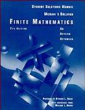 Finite Mathematics : An Applied Approach: Student Solutions Manual, Mizrahi, 0471136727