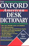The Oxford American Desk Dictionary, , 0195126734