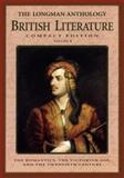 The Longman Compact Anthology of British Literature, Damrosch, David and Baswell, Christopher, 0321076737