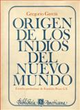 Origen de Los Indios Del Nuevo Mundo 9789681606732