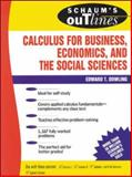Calculus for Business, Economics, and the Social Sciences, Dowling, Edward T., 0070176736