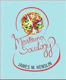 Mastering Sociology, Henslin, James M., 0205206743