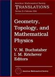 Geometry, Topology, and Mathematical Physics : S. P. Novikov's Seminar: 2006-2007, V. M. Buchstaber and I. M. Krichever, 0821846744