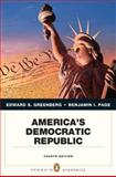 America's Democratic Republic, Greenberg, Edward S. and Page, Benjamin I., 0205806740