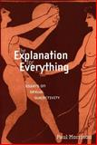 The Explanation for Everything : Essays on Sexual Subjectivity, Morrison, Paul, 0814756743