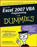 Excel 2007 VBA Programming for Dummies, John Walkenbach, 0470046740