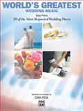 Wedding Music: Easy Piano, Dan Fox, 0739046748