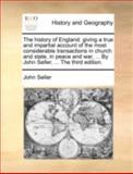 The History of England, John Seller, 1140726757