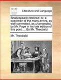Shakespeare Restored, Theobald, 1140966758