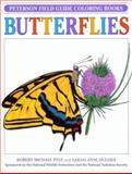 A Field Guide to the Butterflies Coloring Book, Roger Tory Peterson, 0395346754