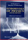 Fundamentals of Physics : Student's Pocket Companion, Christman, J. Richard and Halliday, David, 047109675X