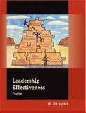 Leadership Effectiveness Profile, Warner, Jon, 0874256755