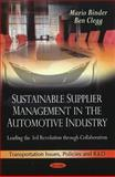 Sustainable Supplier Management in the Automotive Industry: Leading the 3rd Revolution through Collaboration, Mario Binder, Ben Clegg, 1616686758