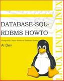 Database-SQL-RDBMS Howto, Al Dev, 0595136753