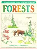 A Field Guide to Forests Coloring Book, Roger Tory Peterson and John C. Kricher, 0395346762