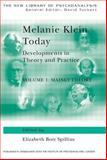 Melanie Klein Today, , 0415006767